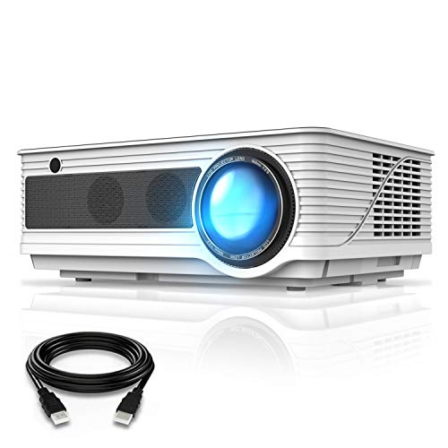 Best Projector Under 200 - VIVIMAGE C580 4000 Lux Movie Projector