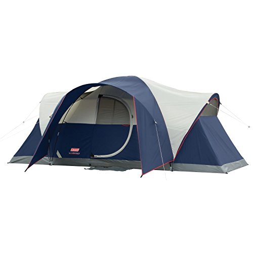Best Family Tents for Bad Weather - Coleman Elite Montana (An 8-Person Lighted Tent)