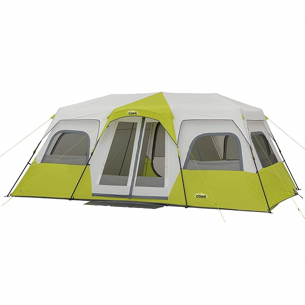 Best Family Tents for Bad Weather - CORE 12-Person Cabin Tent