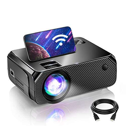 Bomaker Wi-Fi Mini Projector for Outdoor Movies