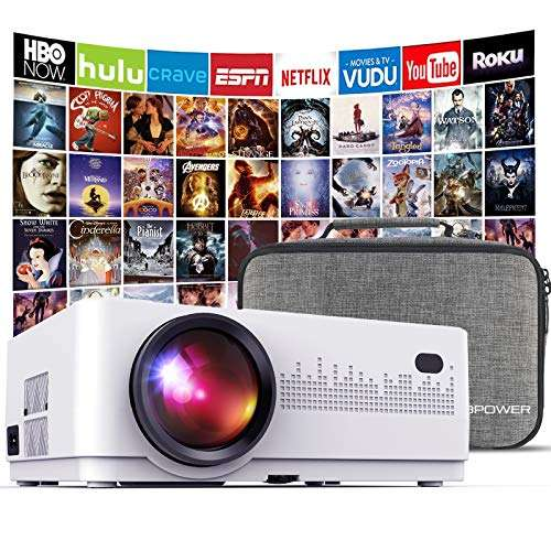 DBPOWER L21 LCD Video Projector for Smartphone