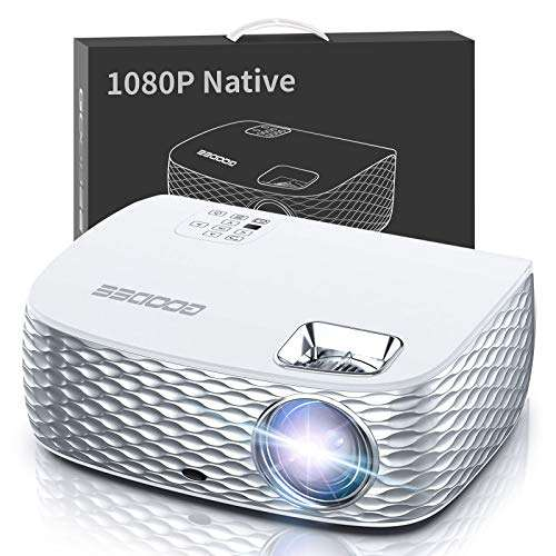 GooDee BL98 Native 1080P HD Video Projector