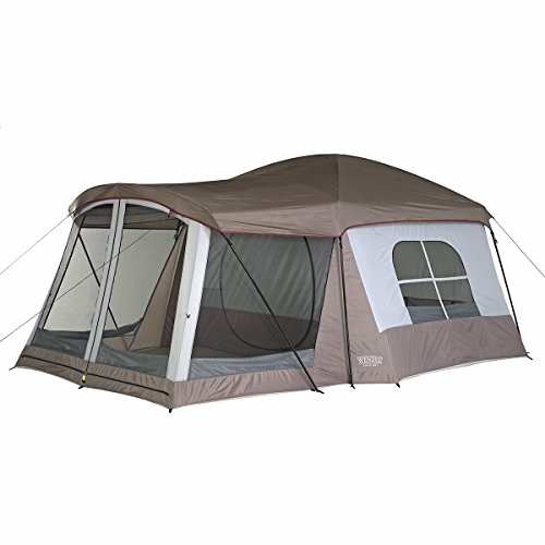 Comparison Wenzel 8 Person Klondike Vs Coleman 8-Person Instant Tent