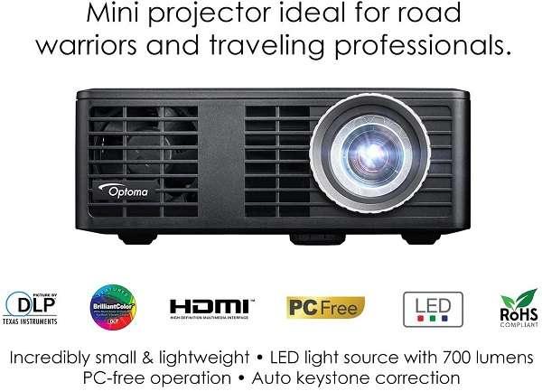 Key Feature Of The Optoma ML750 WXGA Portable Projector