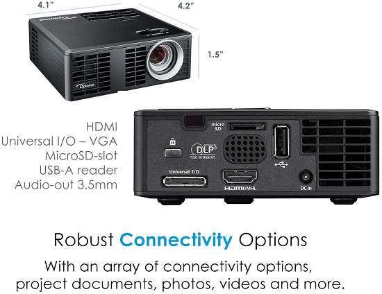 What Users Are Saying About Optoma ML750 WXGA Portable Projector