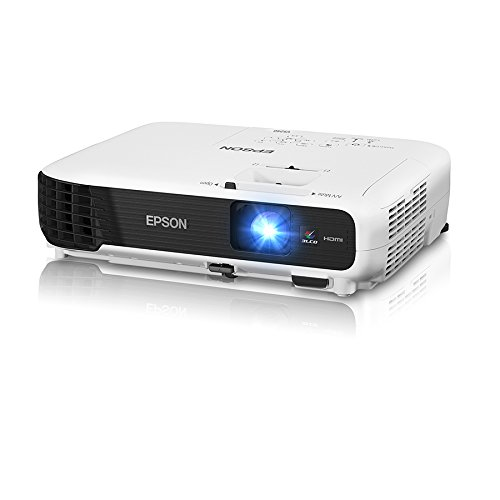 best projector under 500 - Epson VS240 SVGA 3LCD Projector 3000 Lumens Color Brightness