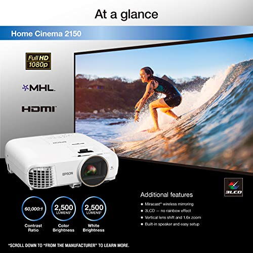 Epson Home Cinema 2150 Reviews - What are the Disadvantages of Epson Home Cinema 2150?