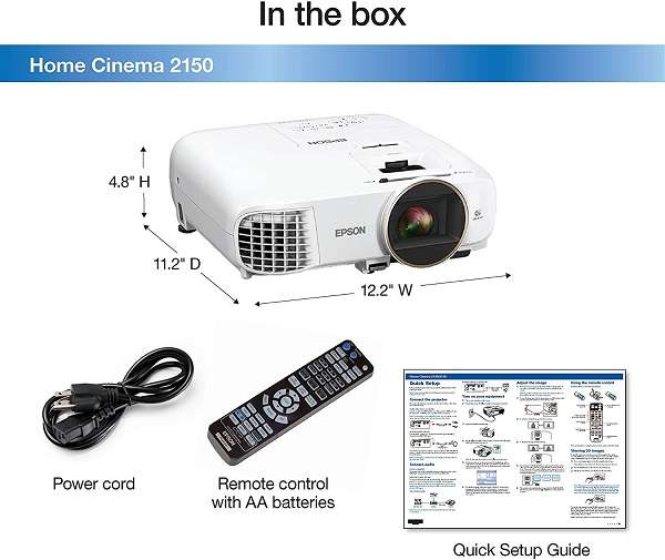 What Users Saying About the Epson Home Cinema 2150 Reviews
