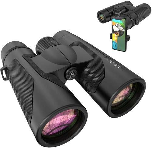 Adasion Binoculars with Smartphone Photograph Adapter