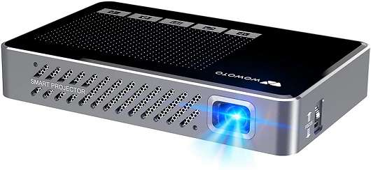 WOWOTO Mini Projector For Home Theater