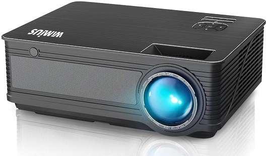WiMiUS P18 Native 1080P Projector - Best Compatible Projector