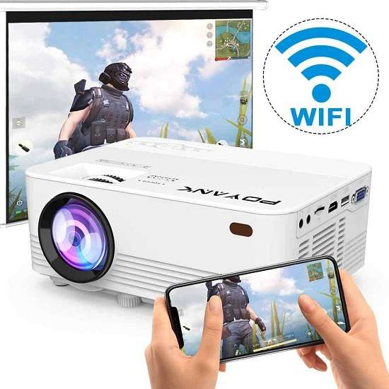 Poyank TP-01 WiFi Projector For Home Entertainment