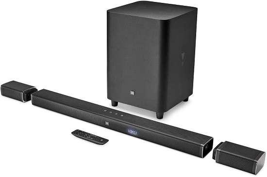 JBL Bar (JBLBAR51BLK) 5.1 4K Ultra Soundbar