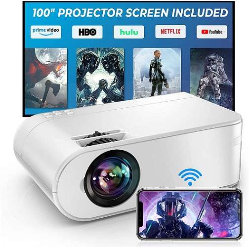 YABER V2 Projector - Best wifi projector