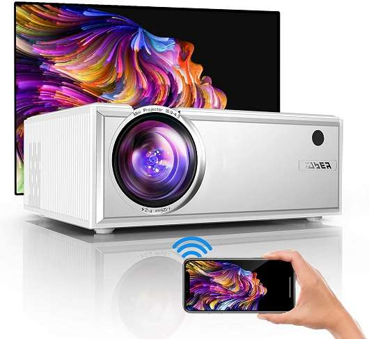 YABER Y61 Projector - Best mini portable projector