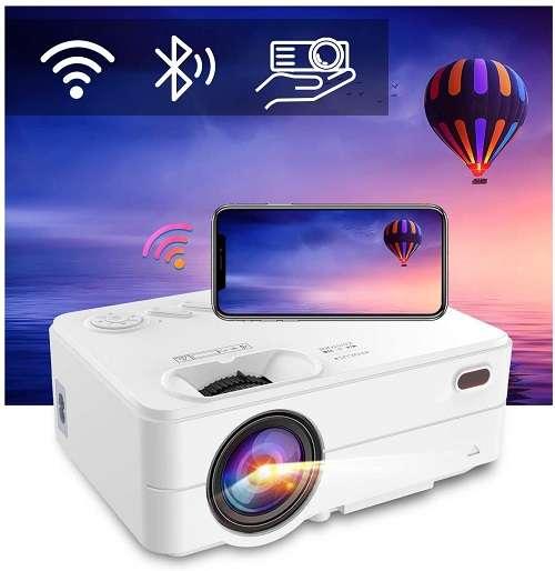 ARTlii Mini Projector - Best mini wifi and Bluetooth projector