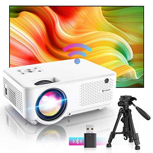 Bomaker 1080P Projector for outdoor