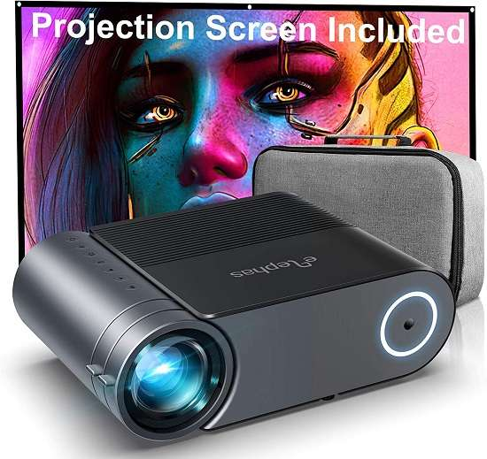 Elephas Mini Video Projector - Best portable movie projector