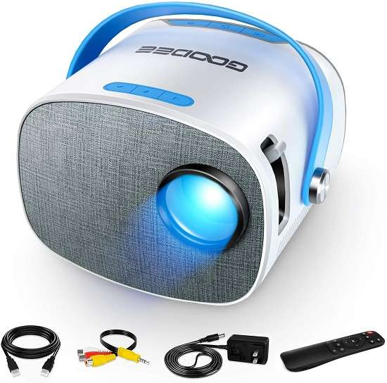 GooDee YG230 Projector - Best portable home theater projector