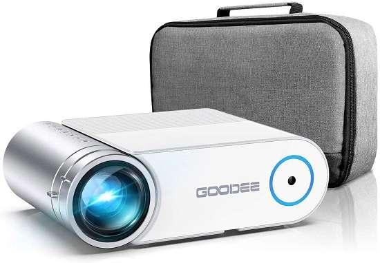 GooDee YG420 Projector – Best mini portable projector