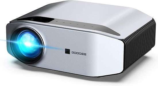 GooDee YG620 projector - Best portable outdoor projector