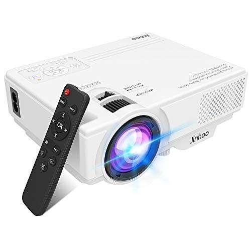 Jinhoo Mini Overhead Projector - Best home theater projector