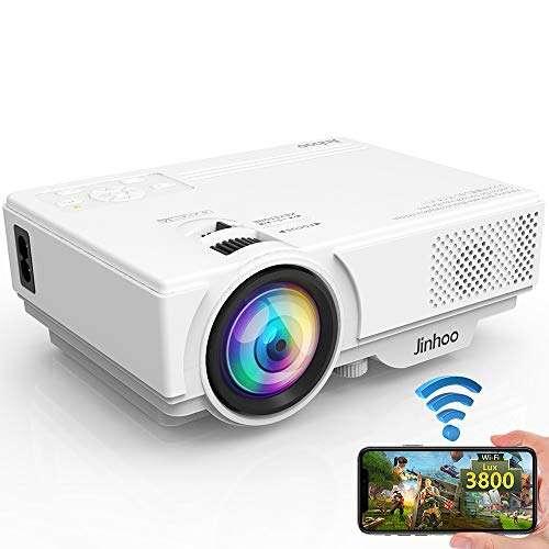 Jinhoo WiFi 3800 Lux Projector - Bestwifi projector