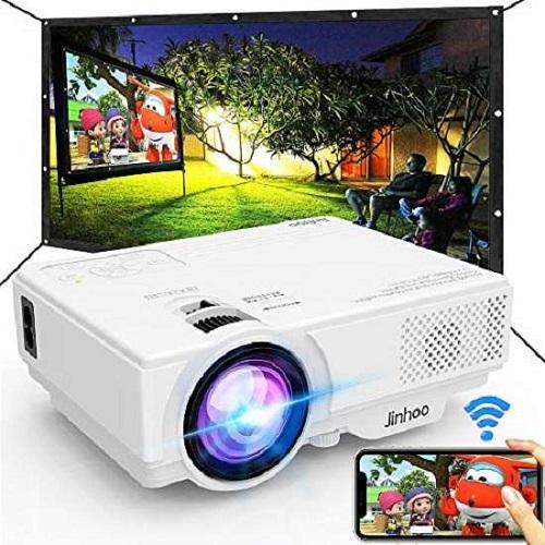 Jinhoo m10 projector – Best Jinhoo wifi mini projector