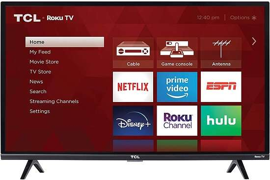 TCL 32S327 32-Inch ROKU TV - Best TCL Gaming TV