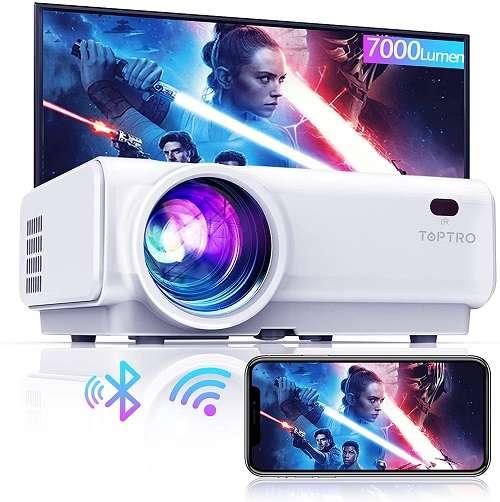 Toptro TR21 Projector - Best Toptro wifi projector