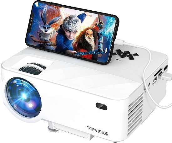 Topvision Mini Projector for outdoor movie