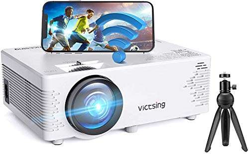 VicTsing WiFi and Bluetooth Mini Projector