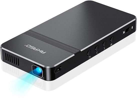AKASO Mini Projector - Best pocket projector