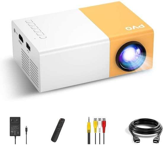 PVO Mini Projector - Best mini portable projector