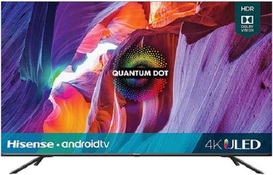 Hisense 75H8G 75-Inch Android 4K ULED Smart TV