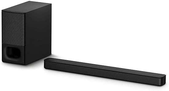 Sony HT-S350 Soundbar with wireless subwoofer