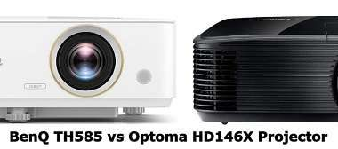 BenQ TH585 vs Optoma HD146X