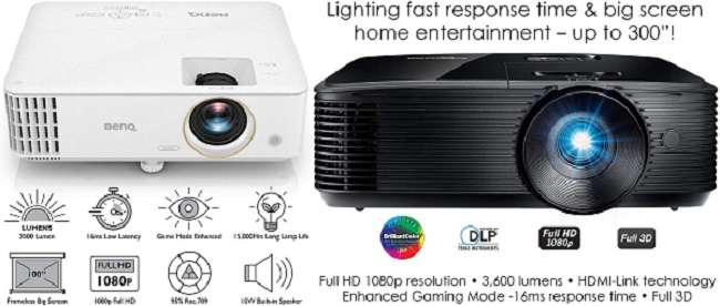 What Are the Differences Between BenQ TH585 vs Optoma HD146X Projector