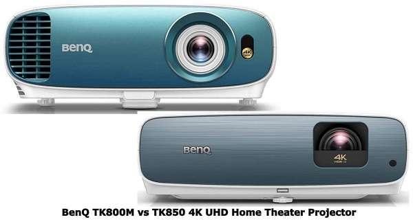BenQ TK800M vs TK850