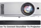 How To Connect Soundbar To Projector